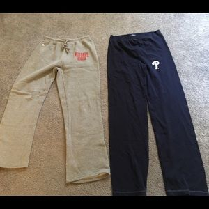 Concepts large PHILLIES leggings NWT and Rutgers